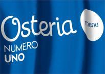 Макет меню для ресторана Osteria